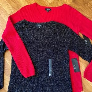 2 a.n.a. lightweight sweaters new with tags small